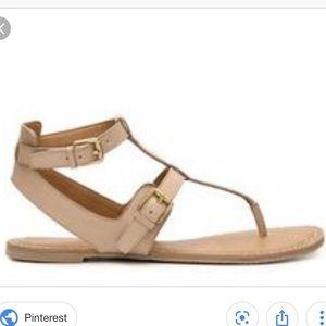 Franco Sarto Javan sandals - nude color